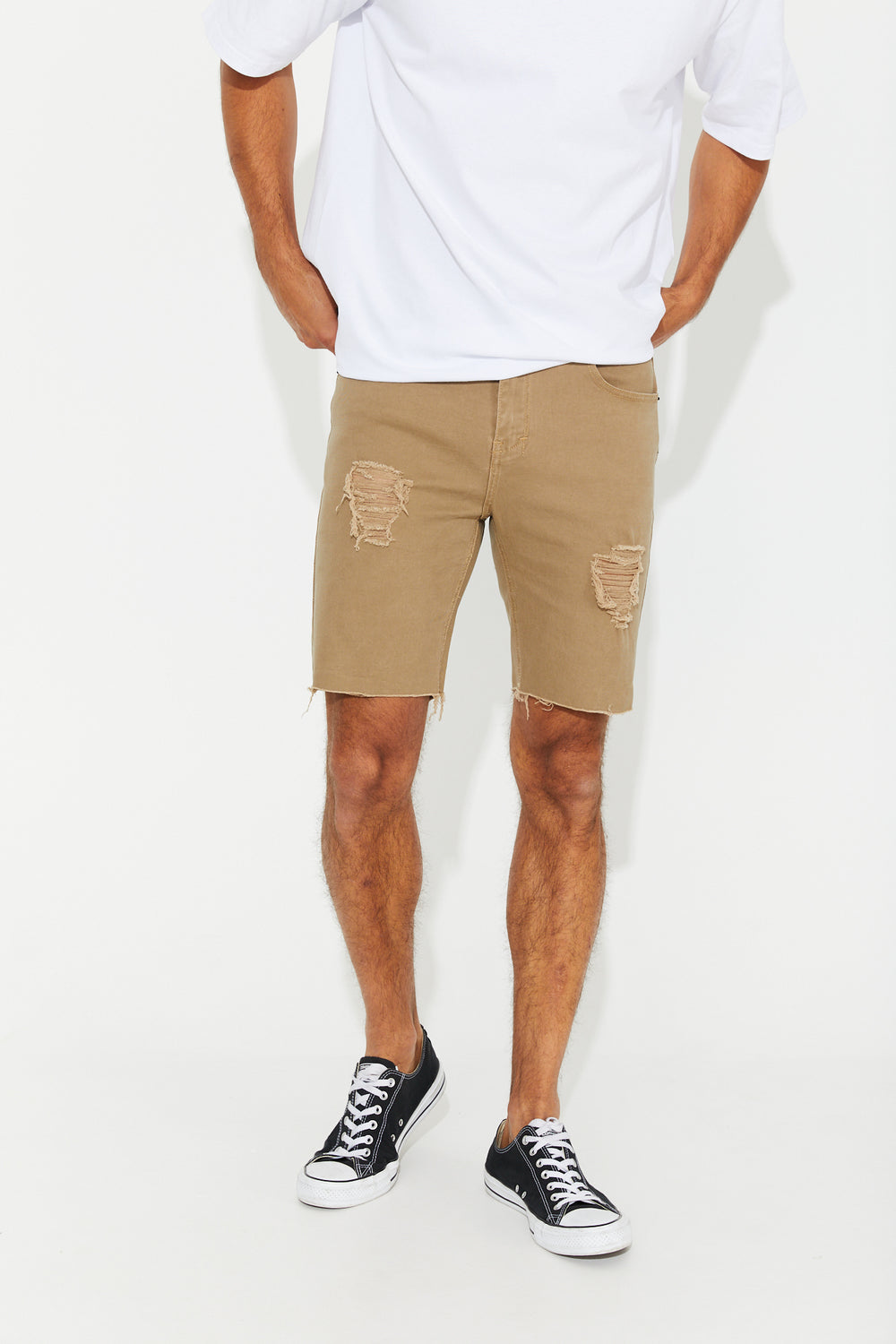 Billy Denim Short Bone