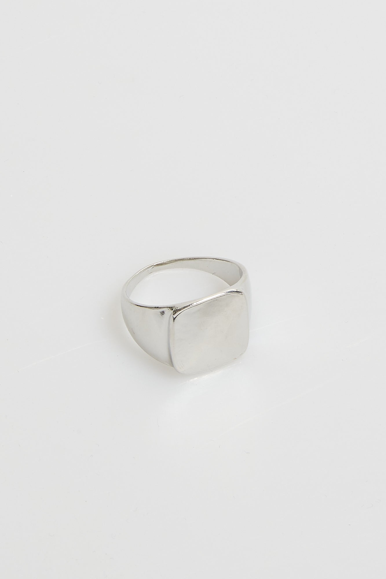 Nth Signet Ring Silver