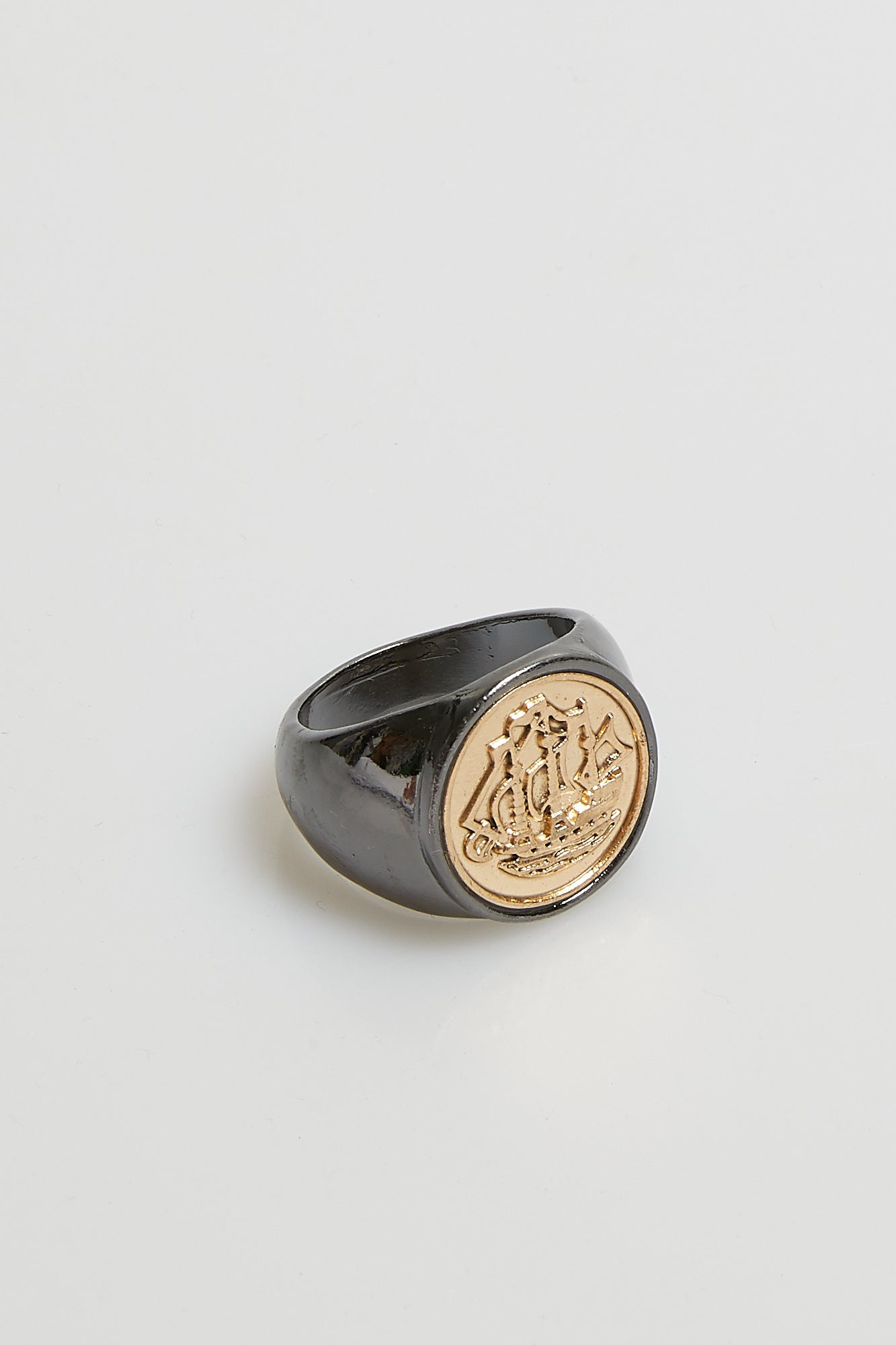 Nth Nautical Ring Gunmetal