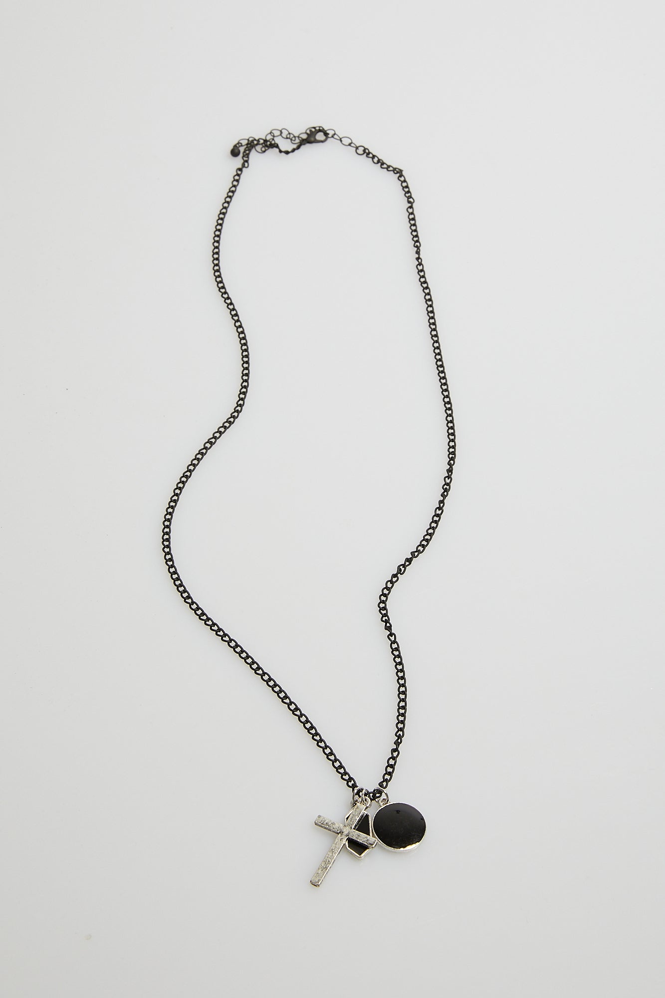 NTH Multi Pendant Necklace Black NTH20201024