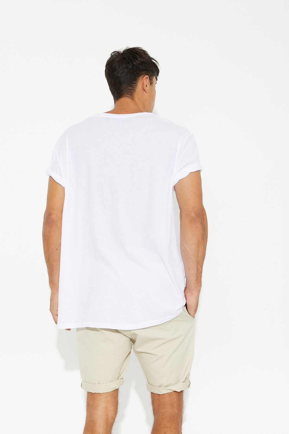 Sam Relaxed Chino Short Ivory