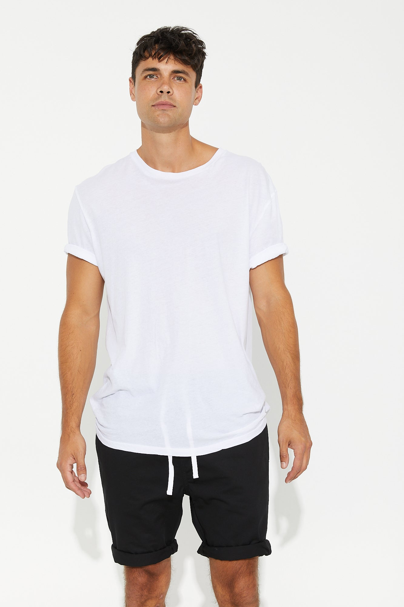Sam Relaxed Chino Short Black