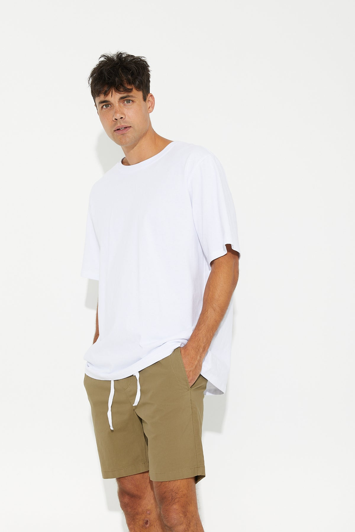 NTH Basic Short Khaki