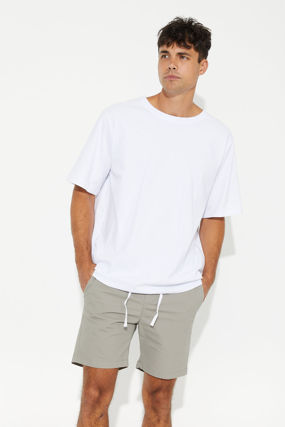 NTH Basic Short Grey