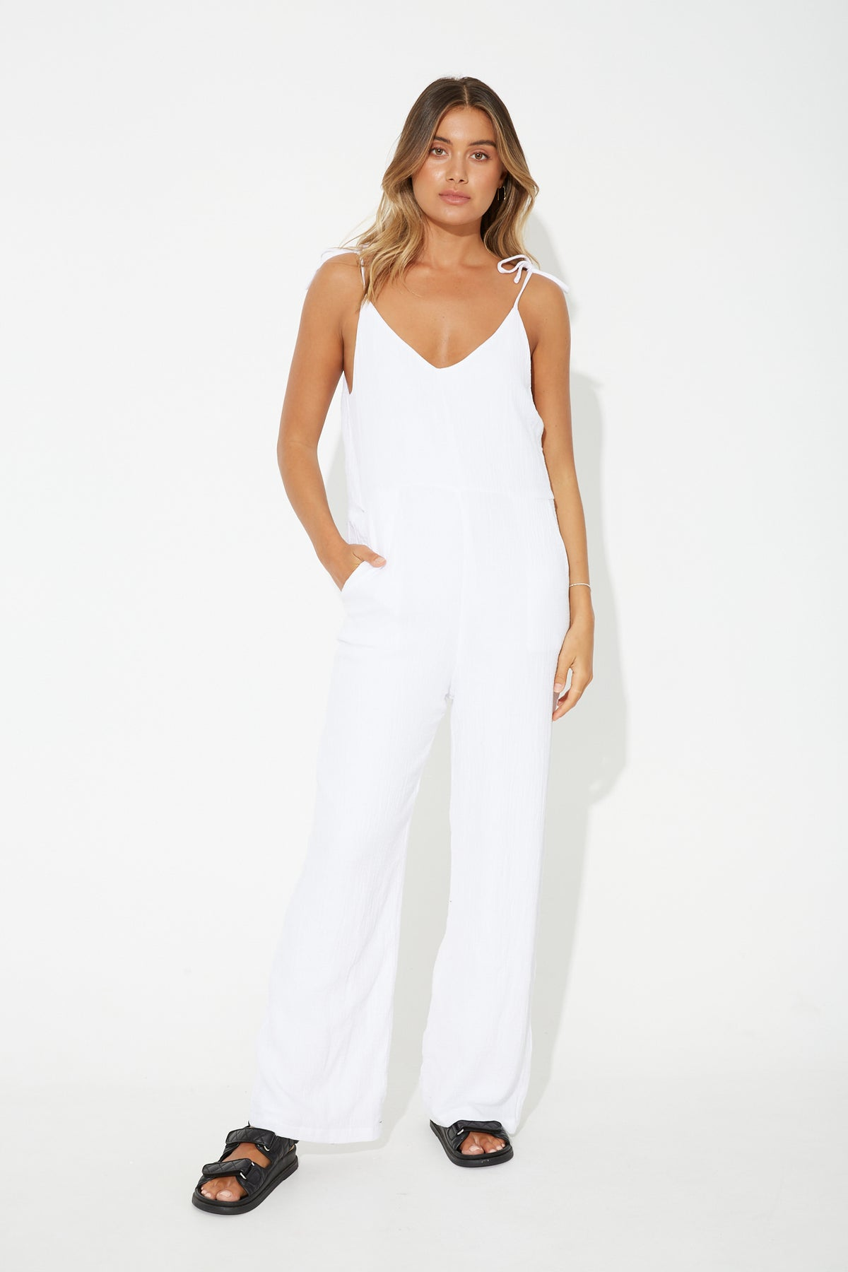 Forrest Jumpsuit White