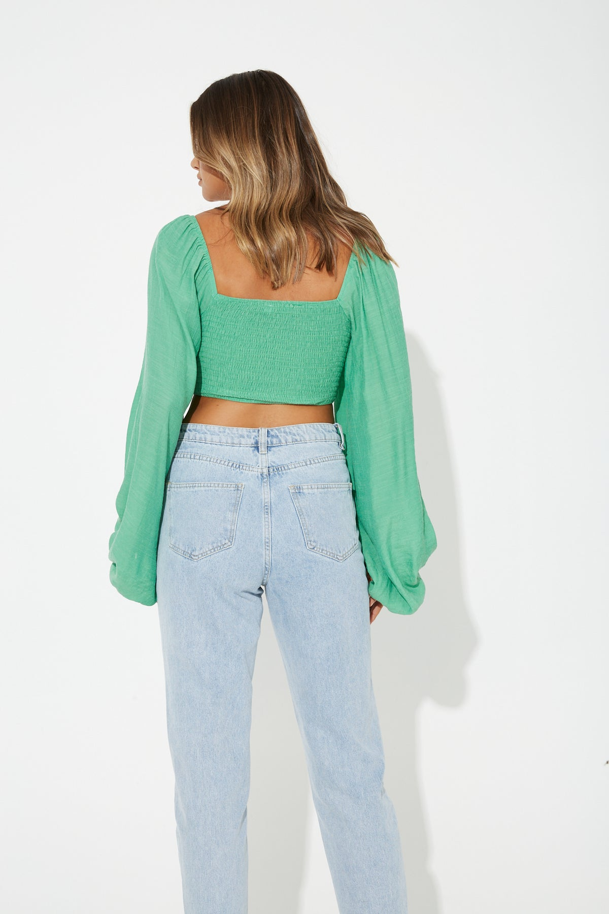 Cindy Crop Emerald