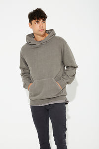 Luke Soft Hoody Charocal