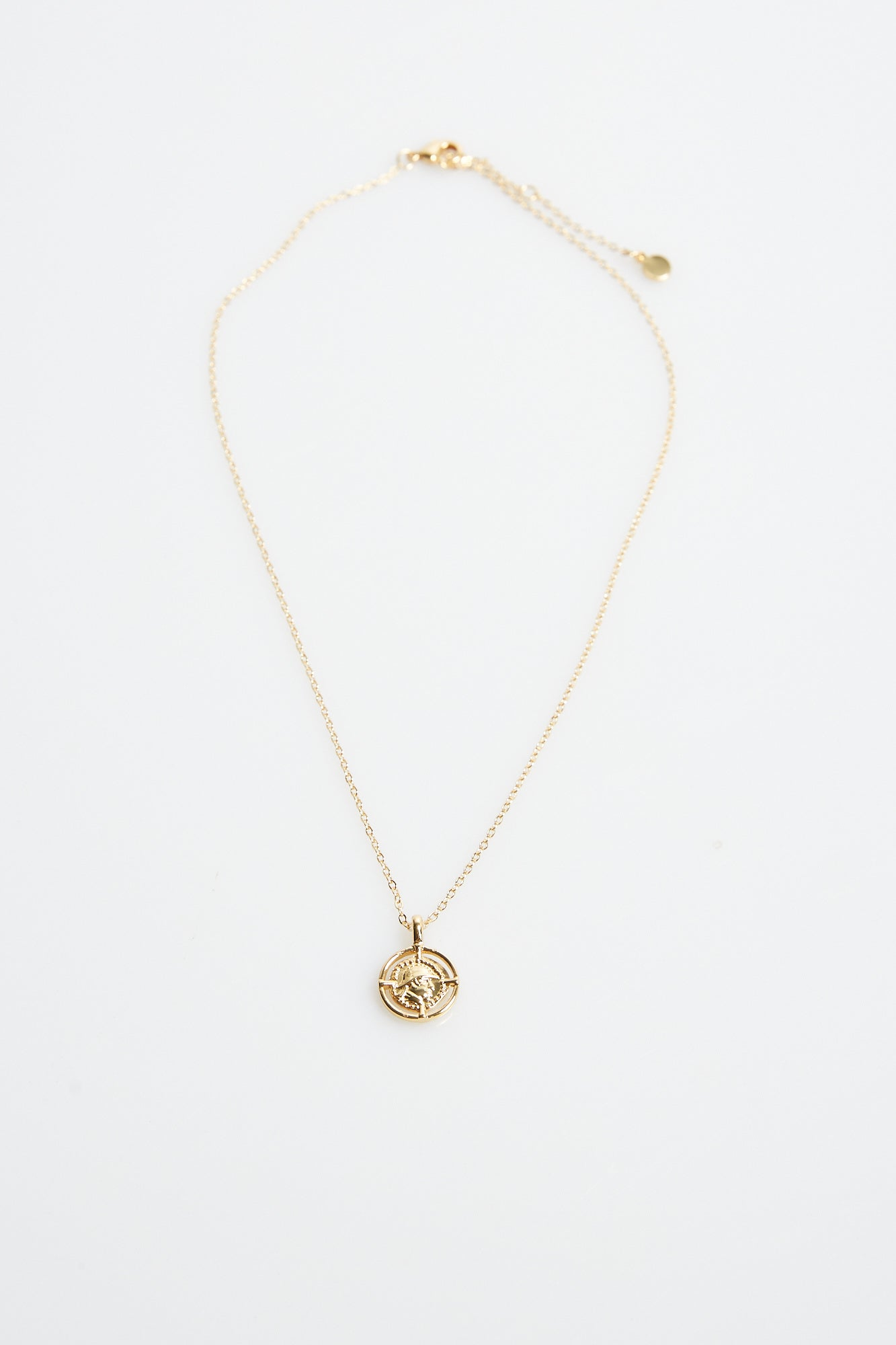 Scarlett Pendant Necklace Gold Plated