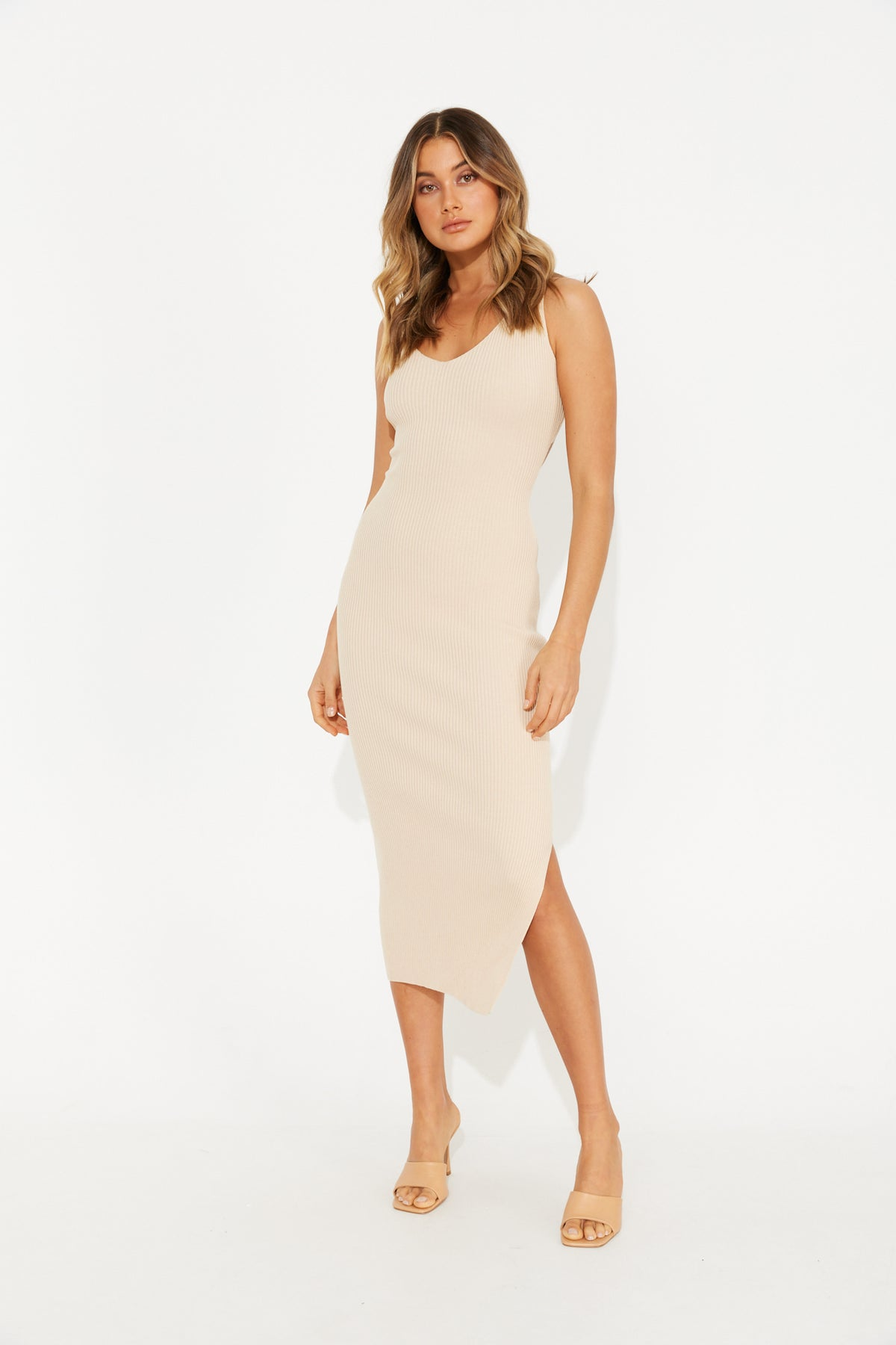 Andrea Dress Nude