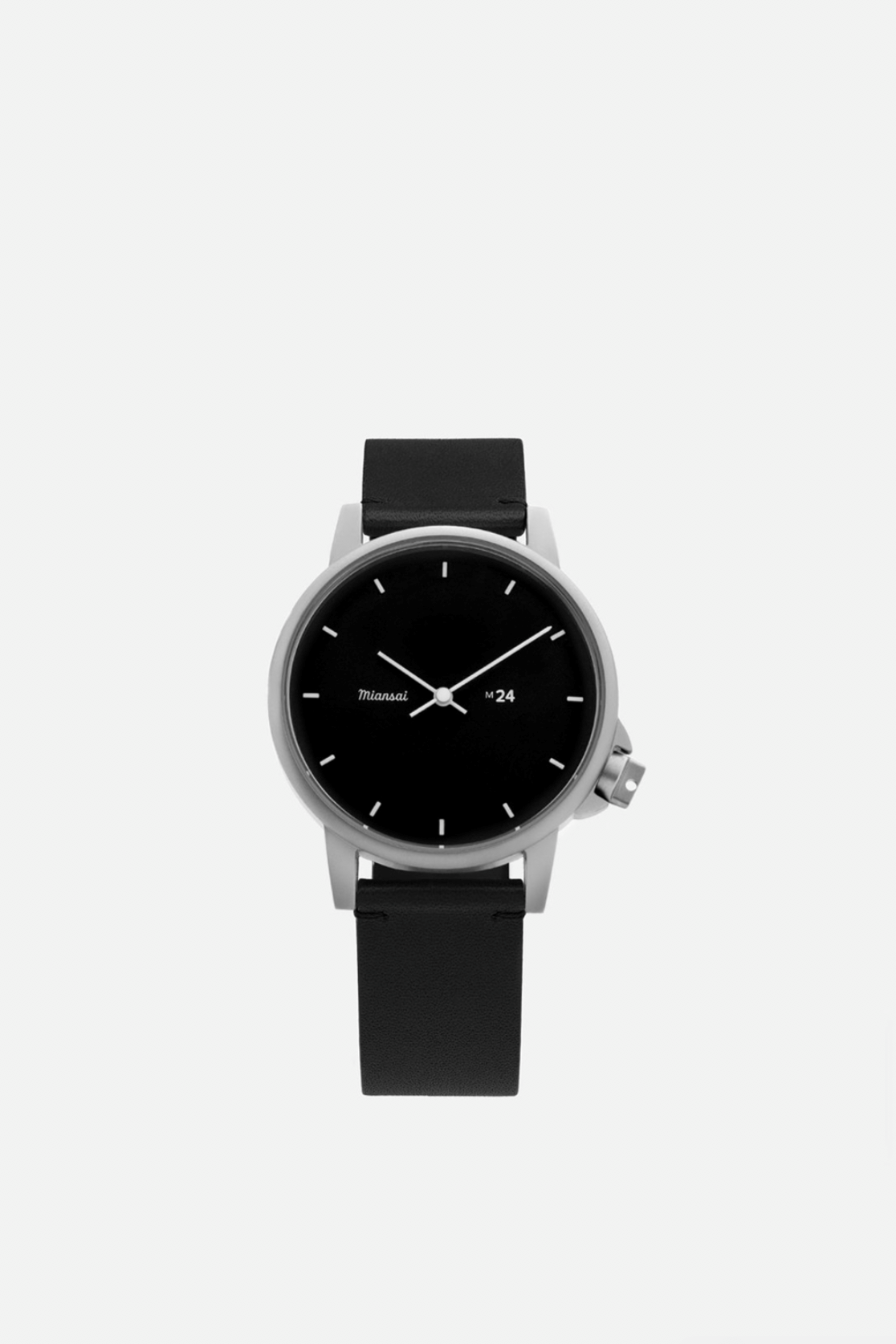 Miansai M24 II Black Black Leather