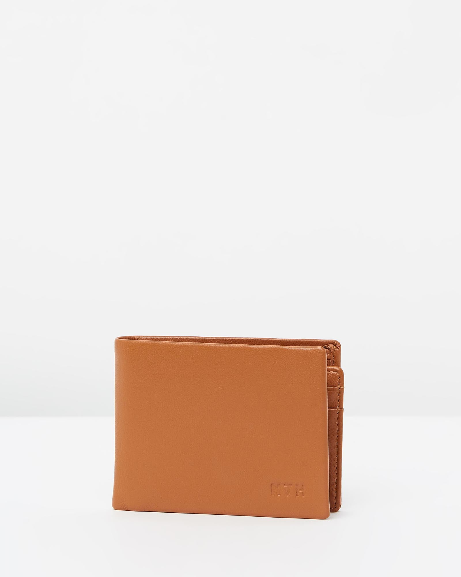 The Gentleman Wallet Leather Tan