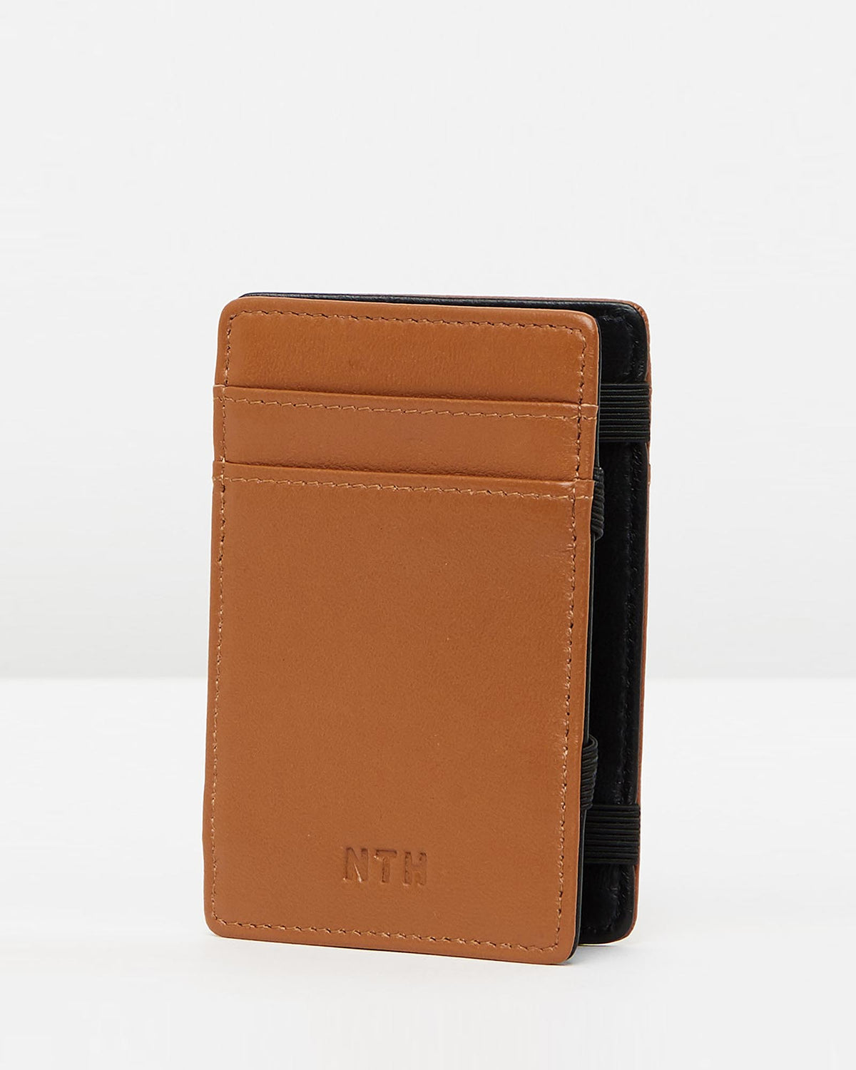 The Warrior Wallet Leather Tan