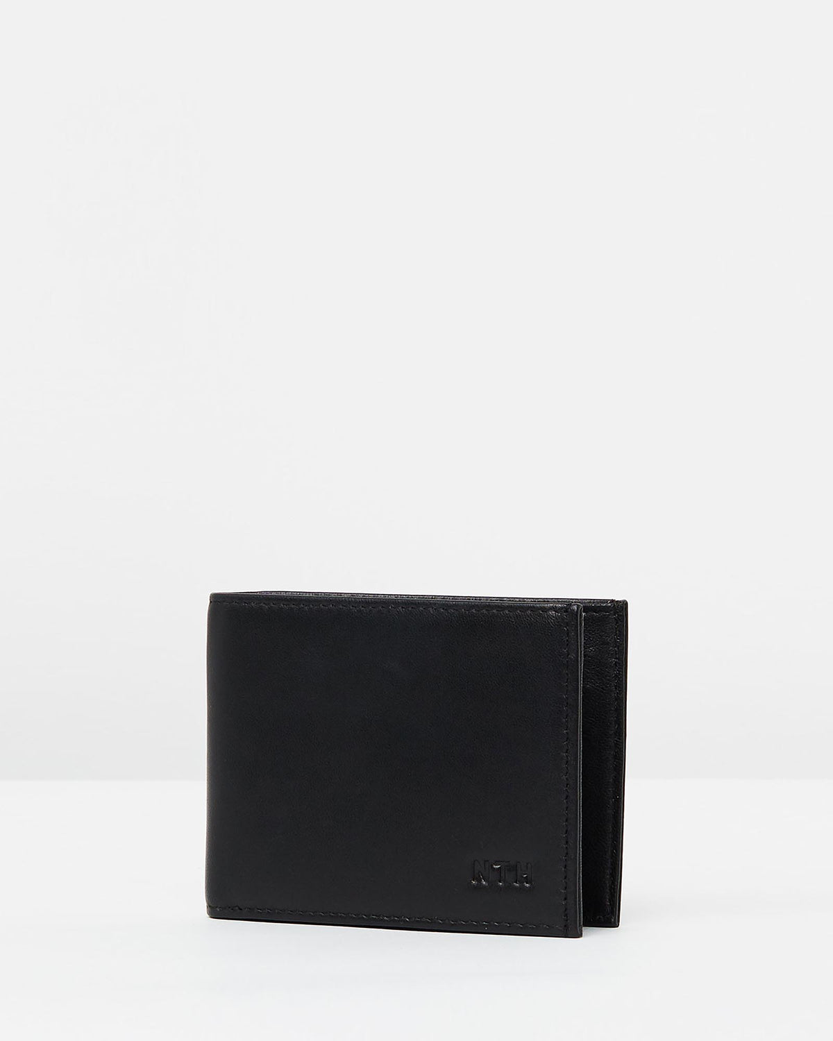 The Lone Wolf Wallet Leather Black