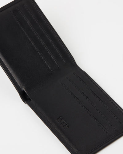 The Statesman Wallet Leather Black