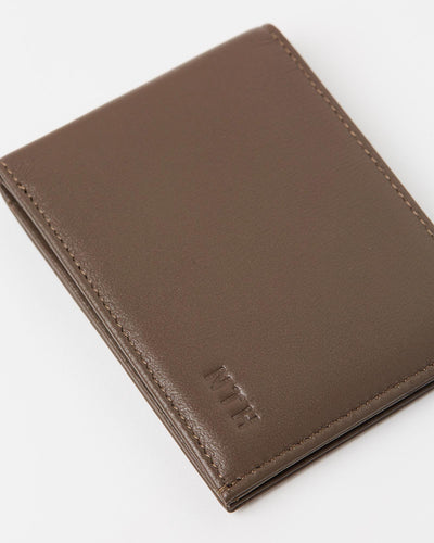 The Lone Wolf Wallet Leather Mocha