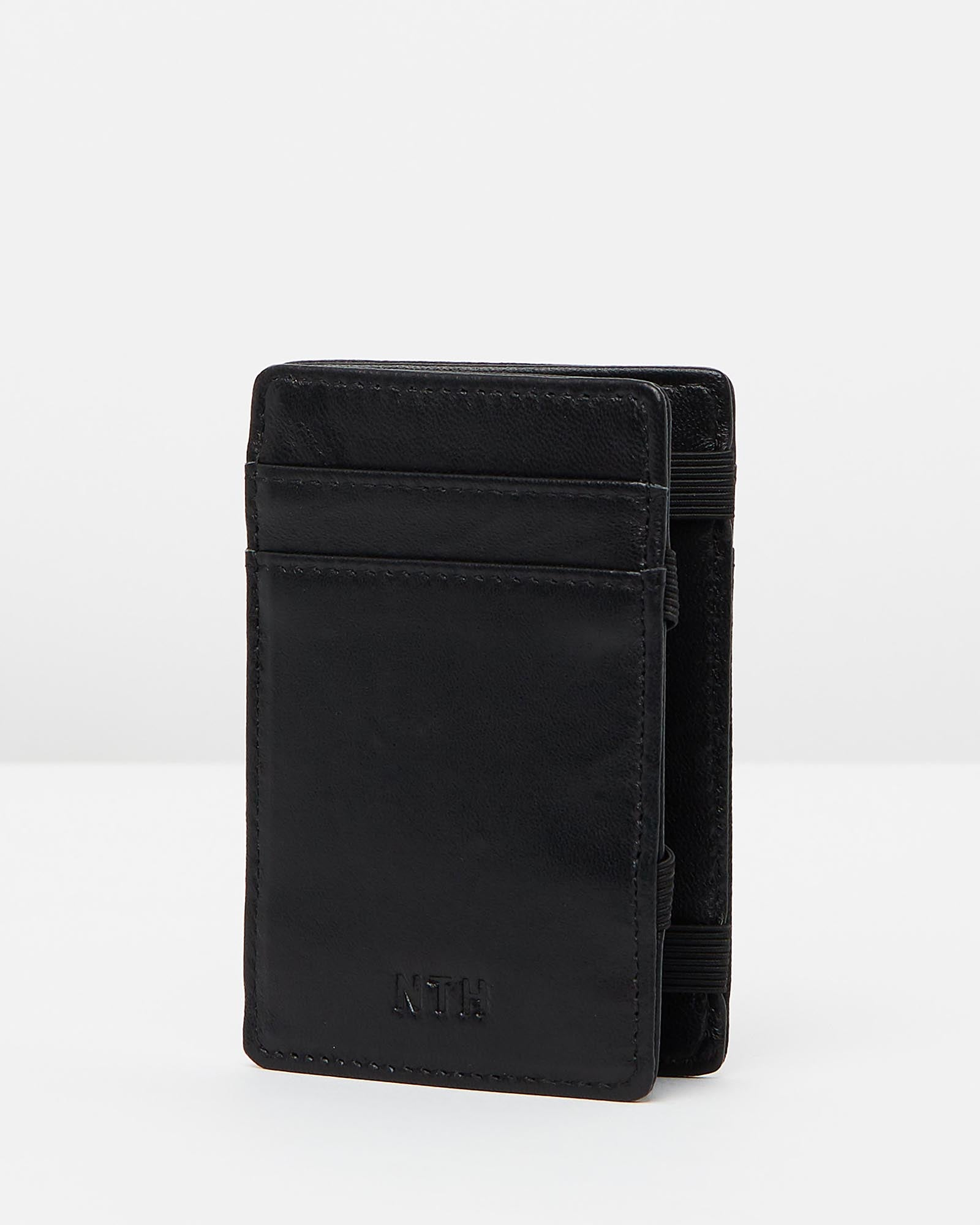 The Warrior Wallet Leather Black