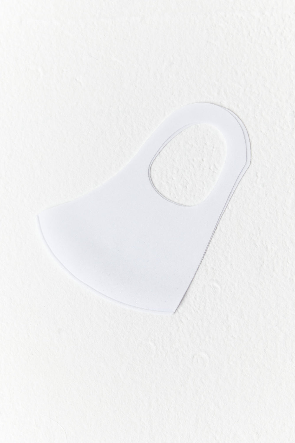 Stretchy Face Mask White