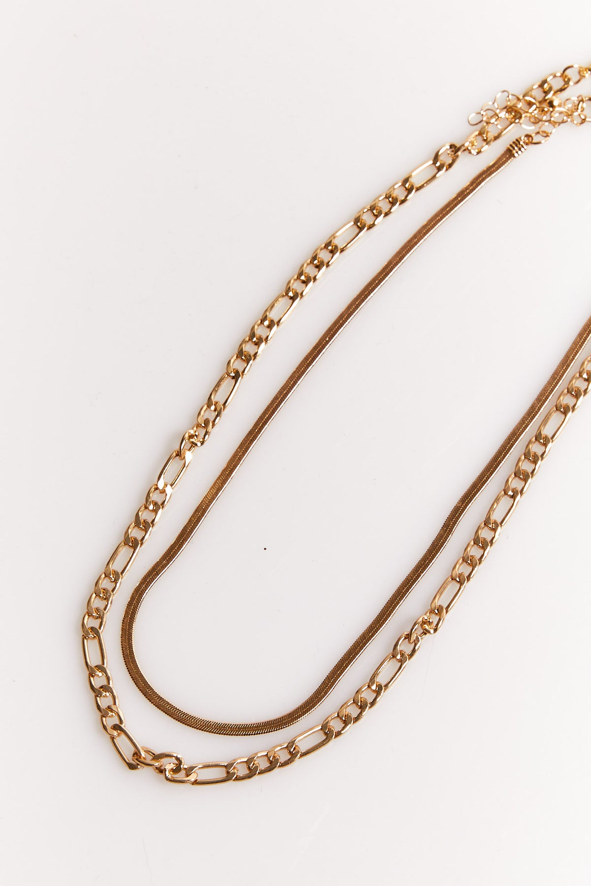 NTH Multi Chain Necklace Gold