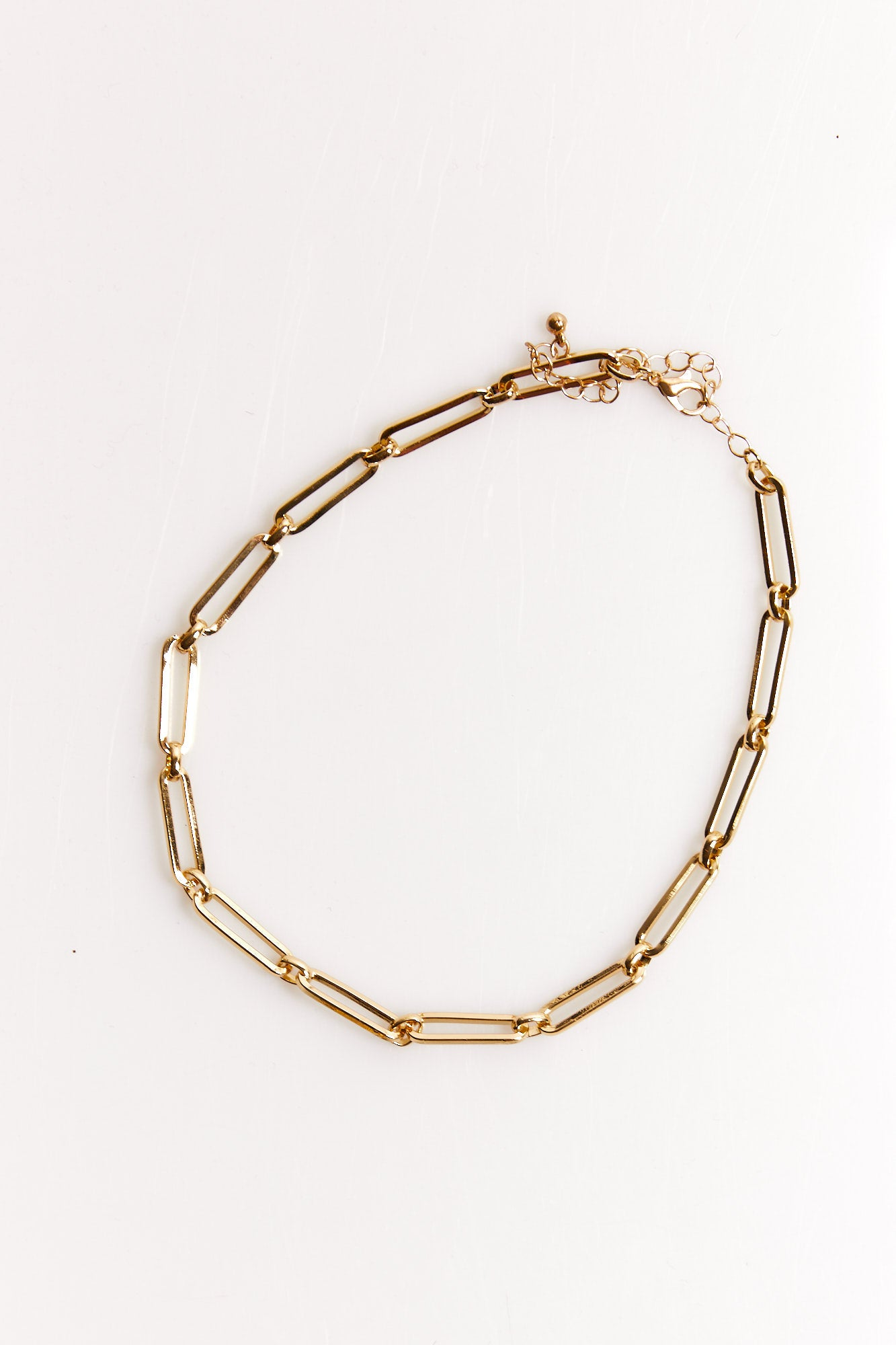 NTH Link Necklace Gold