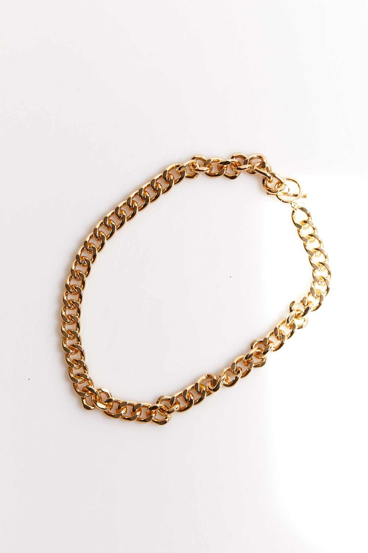 NTH Chunky Necklace Gold