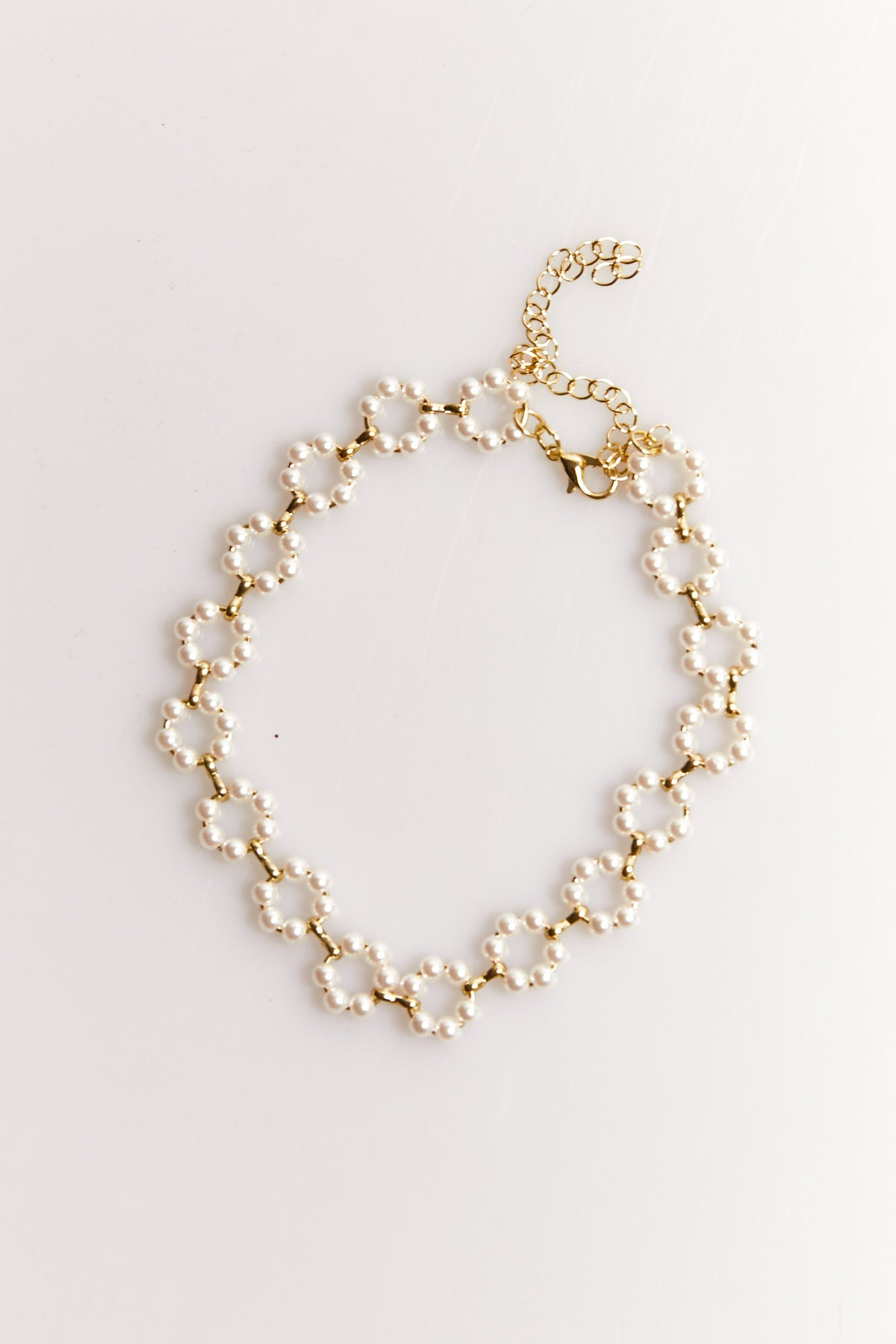 NTH Pearl Necklace Gold