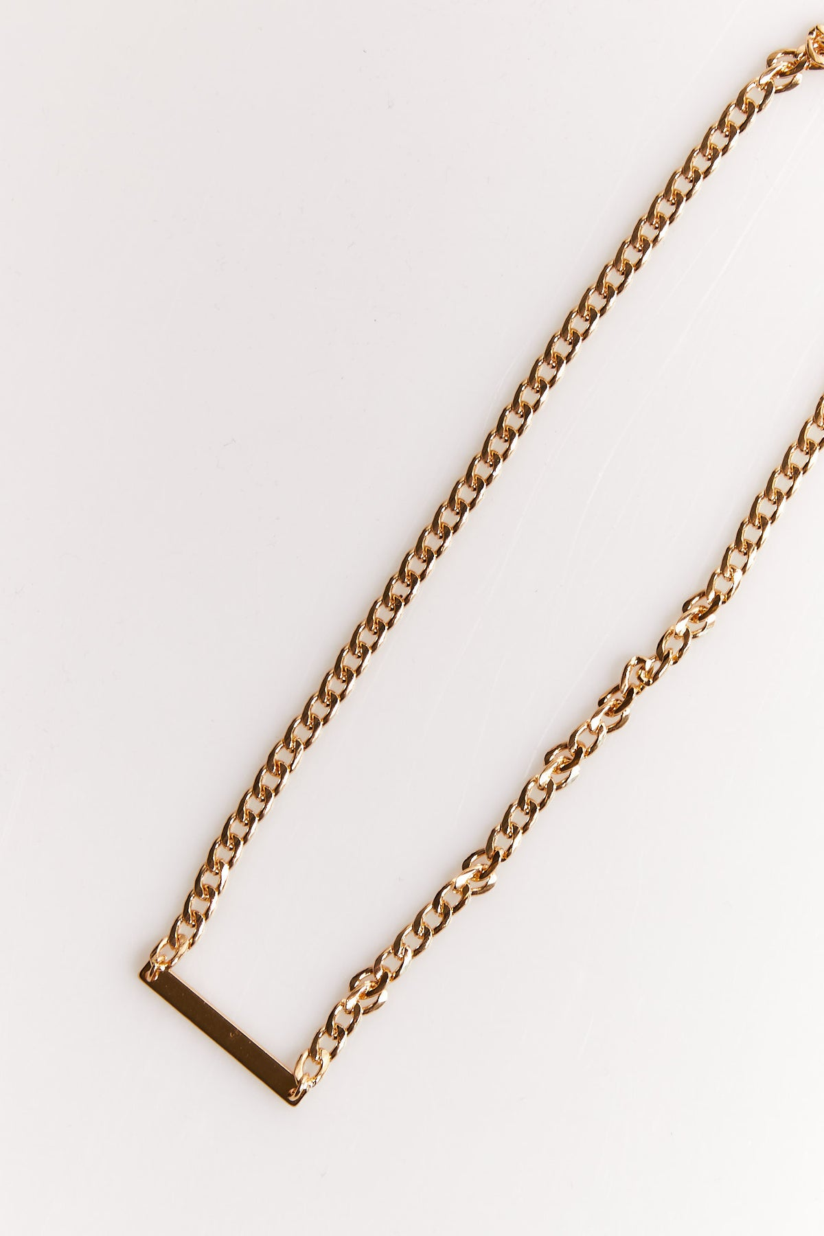 NTH Chain Necklace Gold