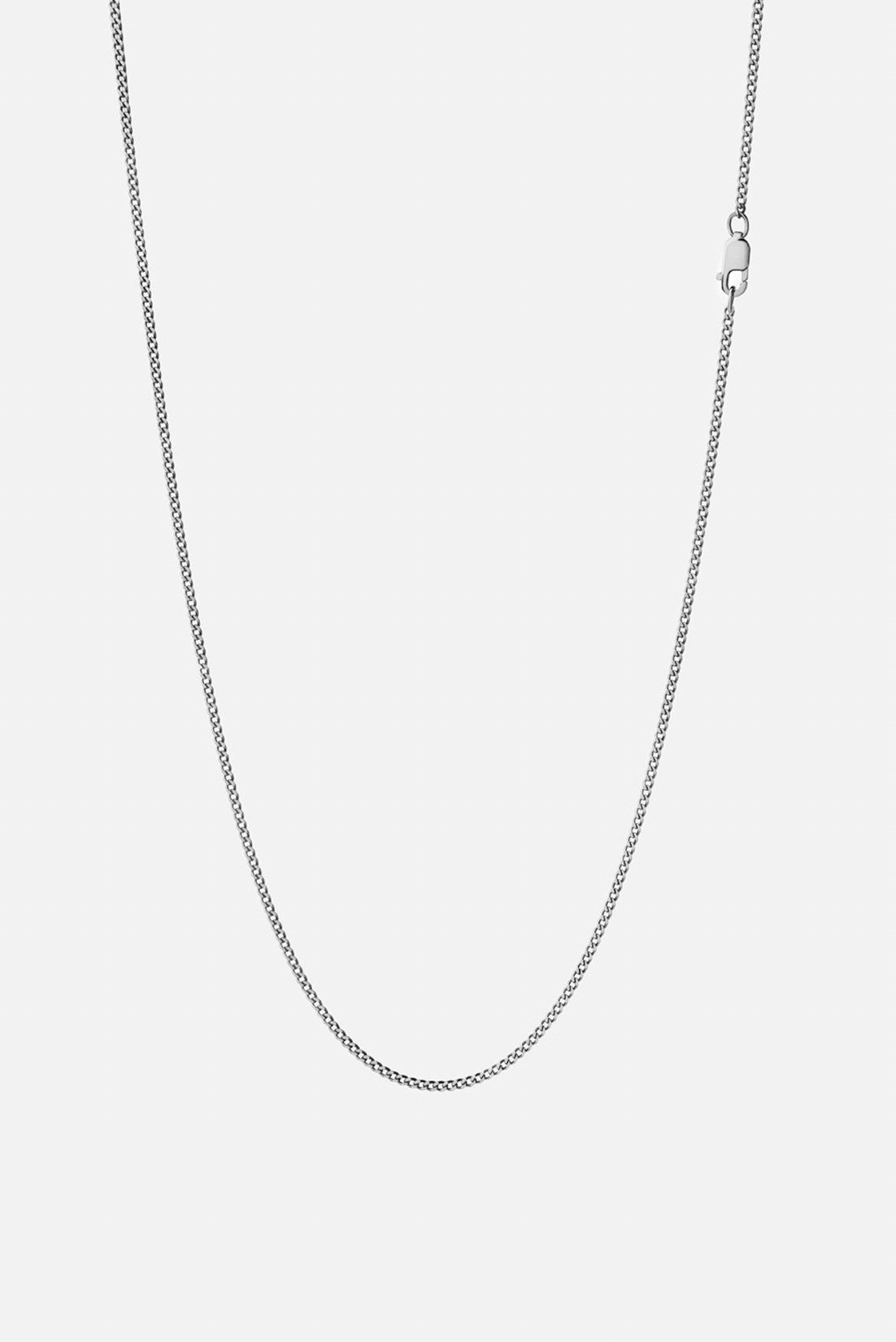 Miansai 1.3mm Cuban Chain Necklace Sterling Silver