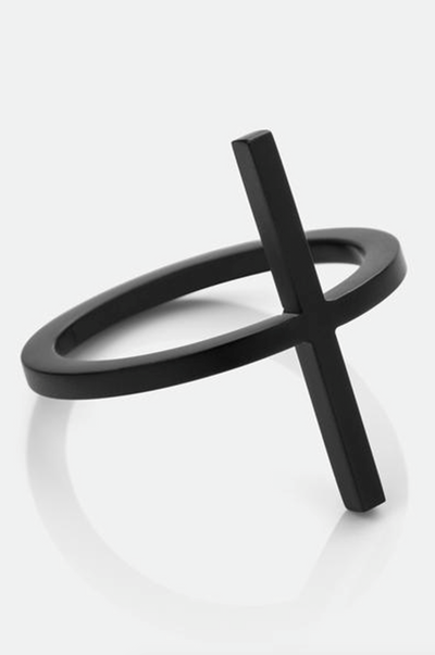 Vitaly Dash Ring Matte Black