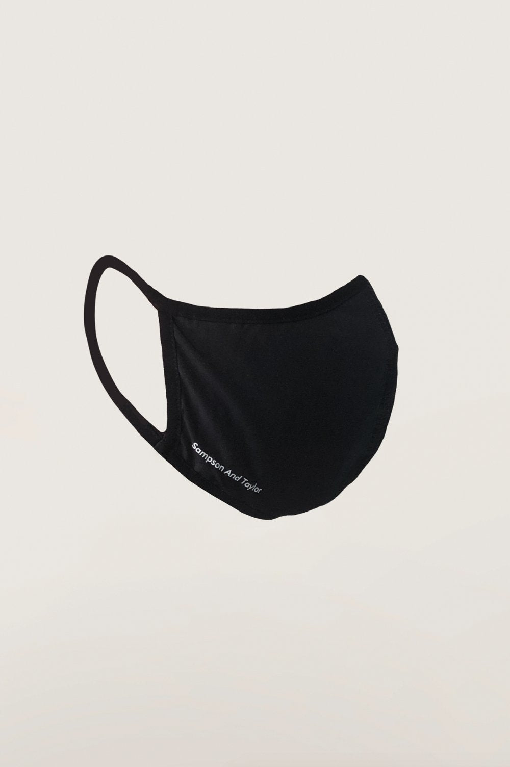 Face Mask Black W Logo