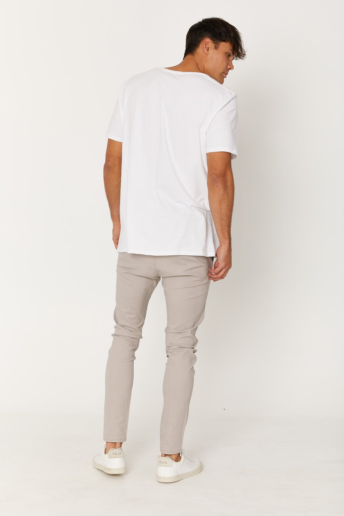 NTH Jogger Skinny Faded Light Grey