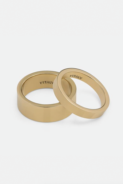 Vitaly Grip Ring Gold