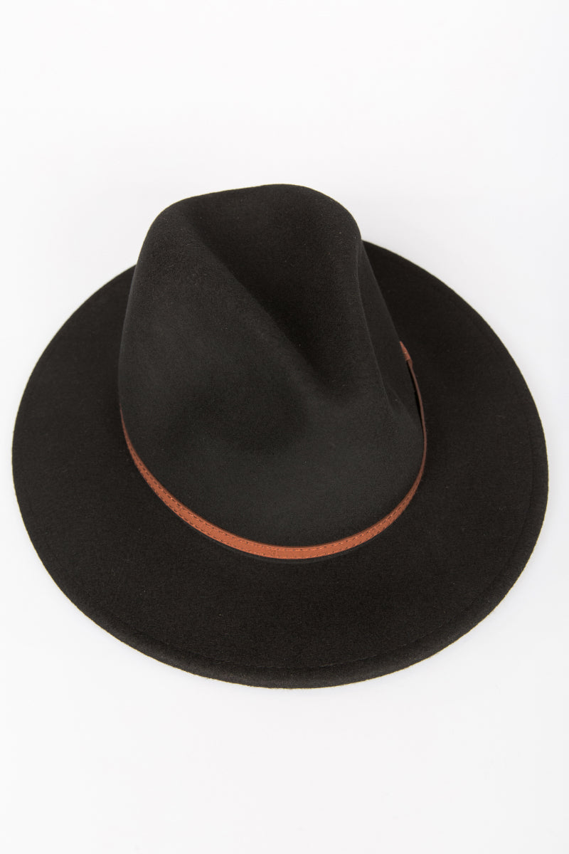 NTH Brim Hat Wool Black