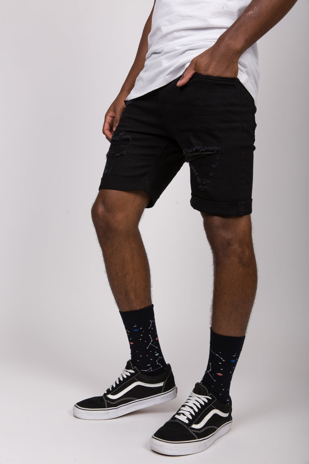 Nth Twilight Sock Black