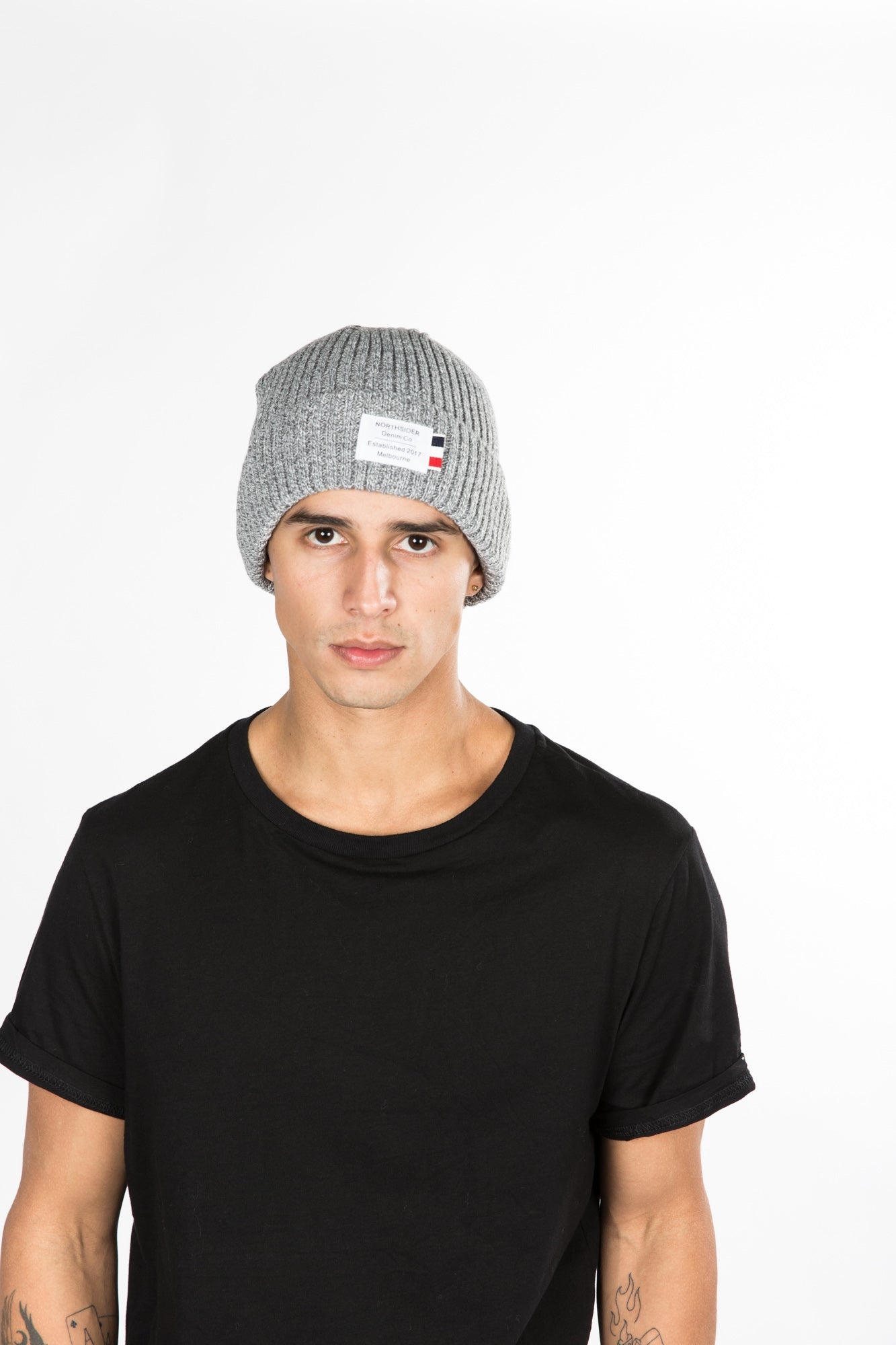 NTH Mix Beanie Grey