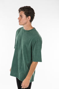 Vintage Washed Tee Emerald