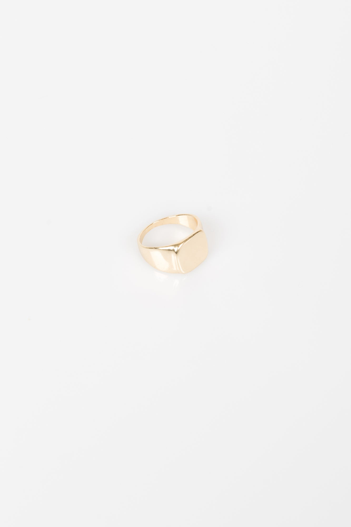 Nth Signet Ring Gold