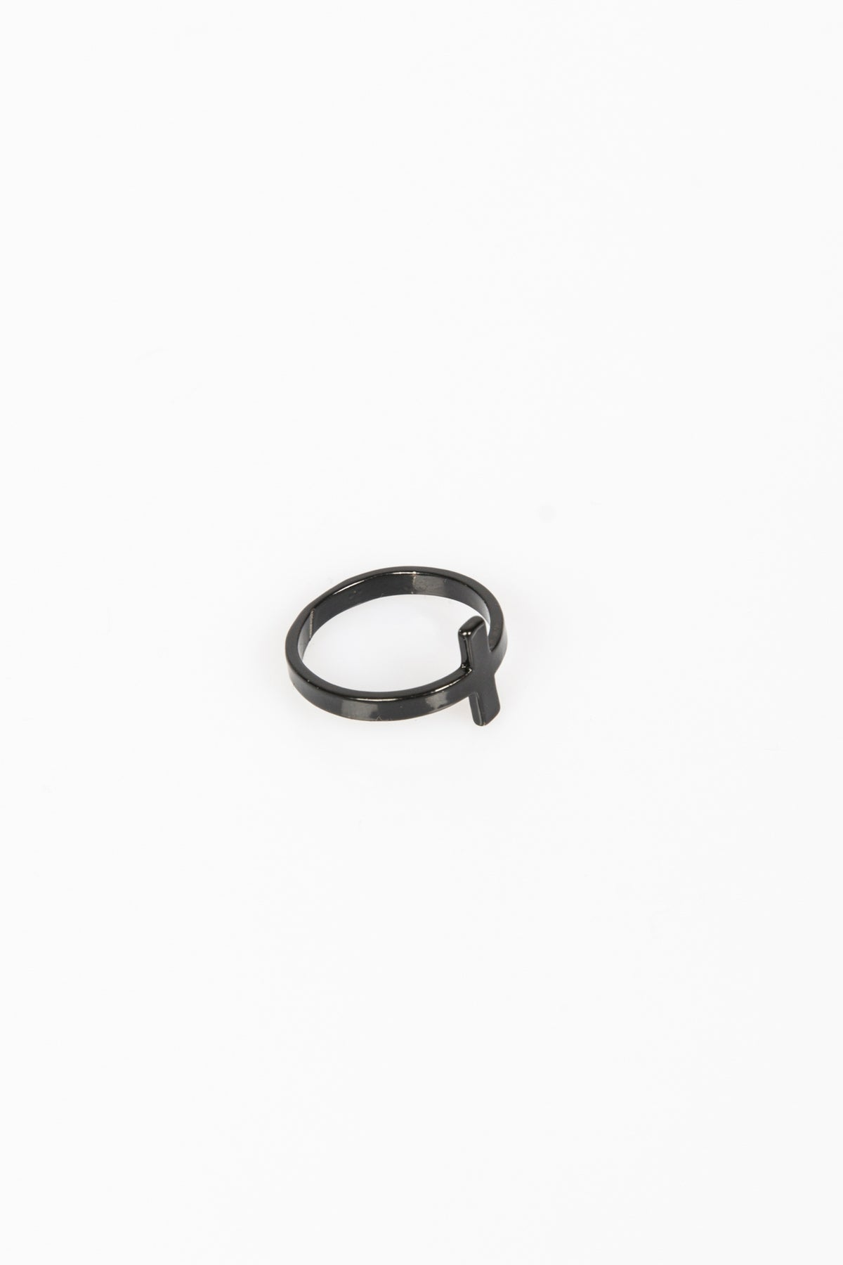 Nth Crossover Ring Matte Black