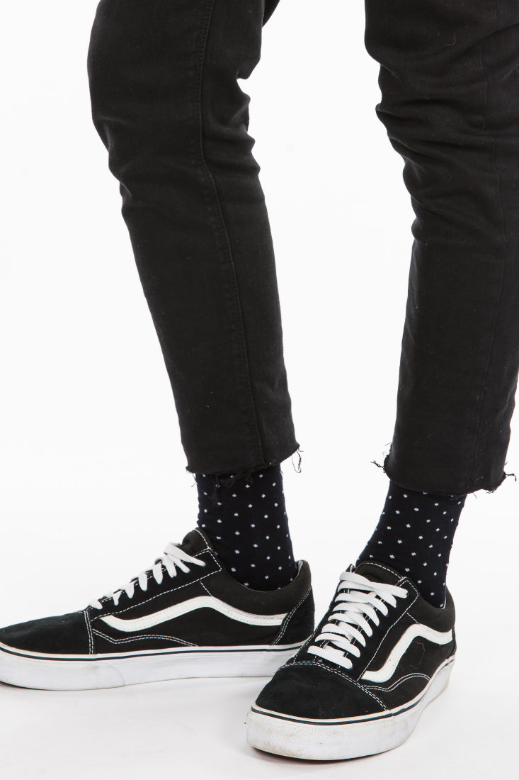 Nth Cross Sock Black