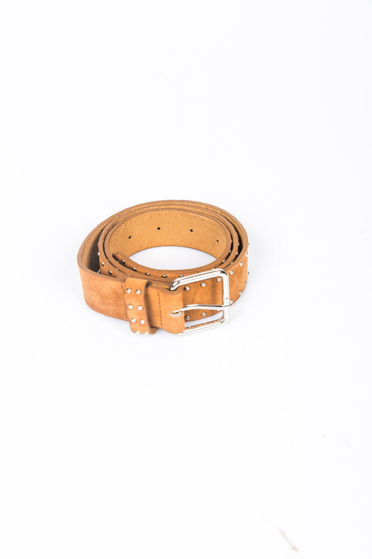 Studded Belt Tan
