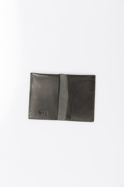 The Fold Wallet Leather Black