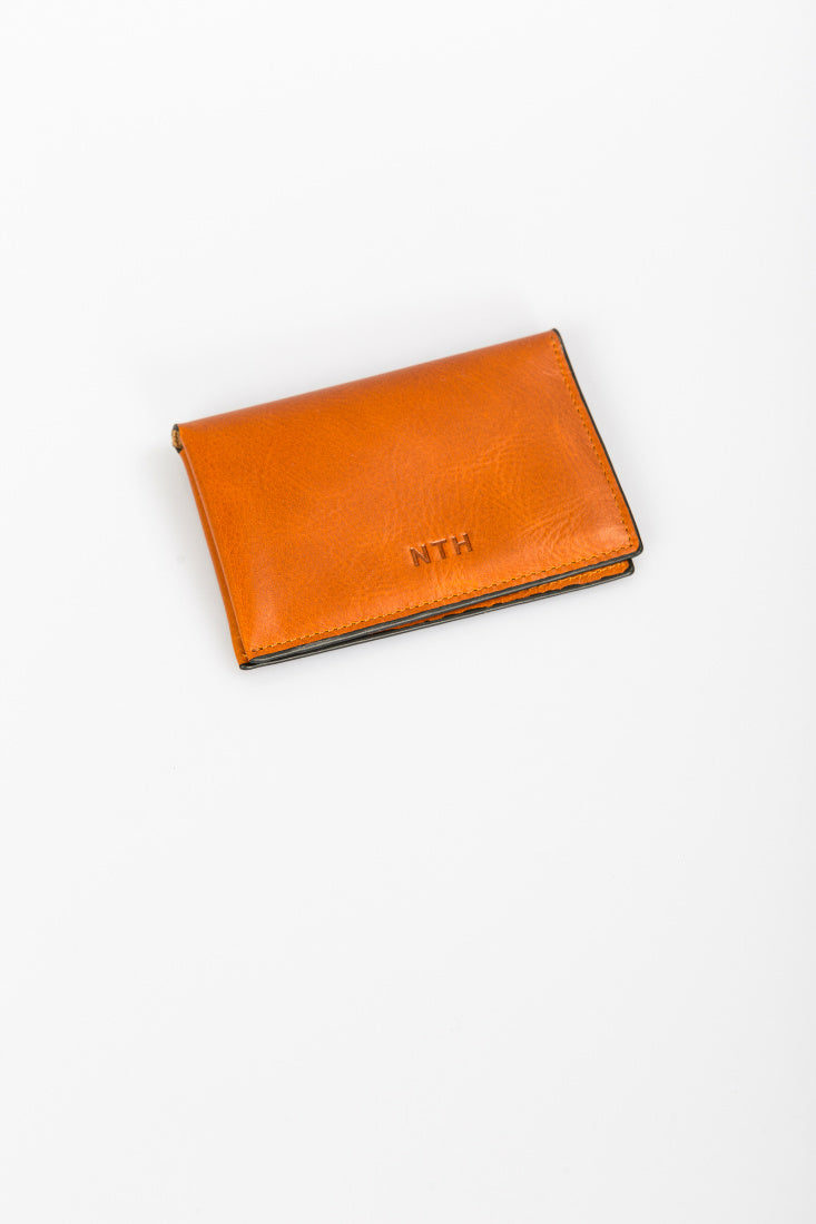 The Fold Wallet Leather Tan