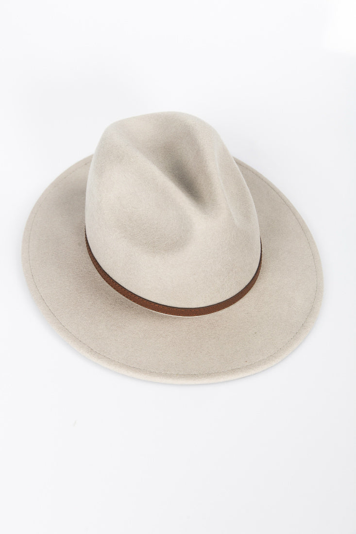 NTH Brim Hat Wool Grey