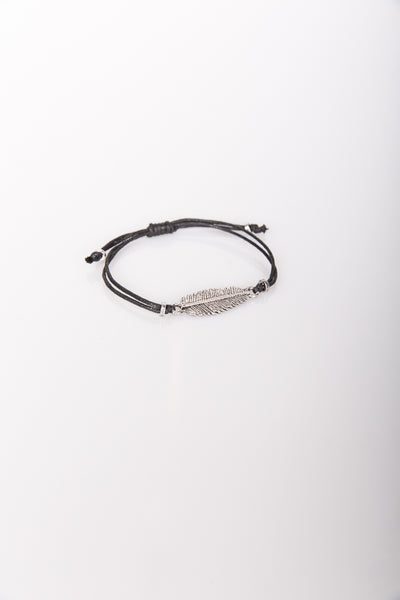 Nth Feather Bracelet Black
