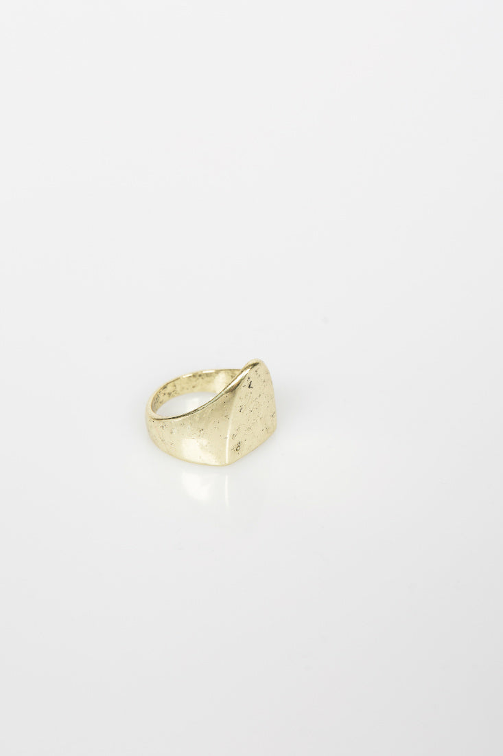 Nth Shield Ring NTH20181222 - Gold