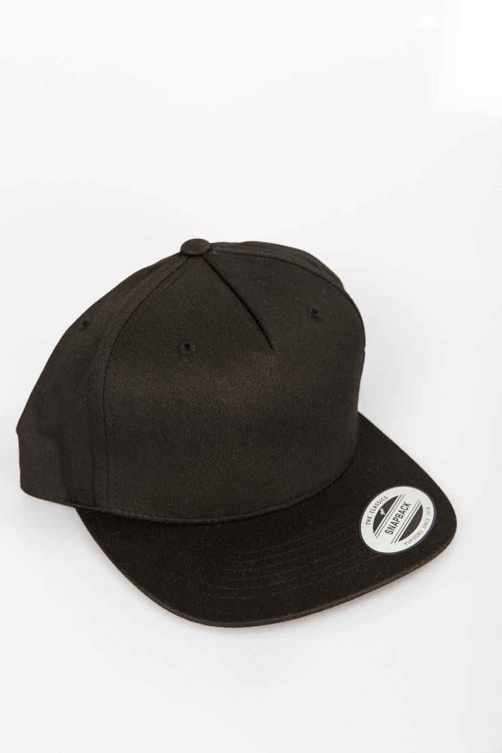 The Heart Snap Back Black