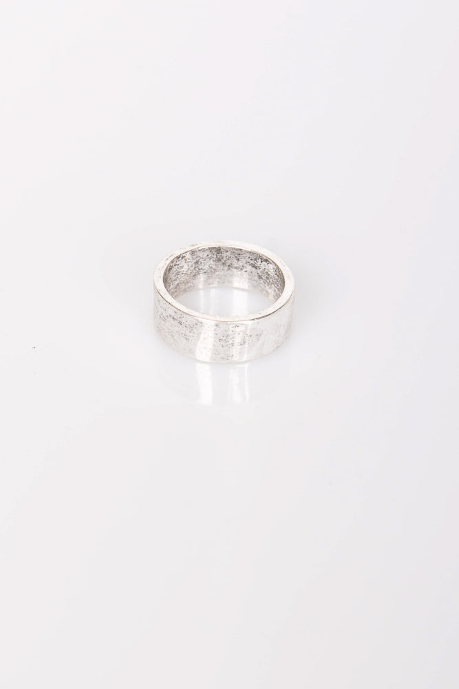 Nth Antique Rustic Ring Anique Silver