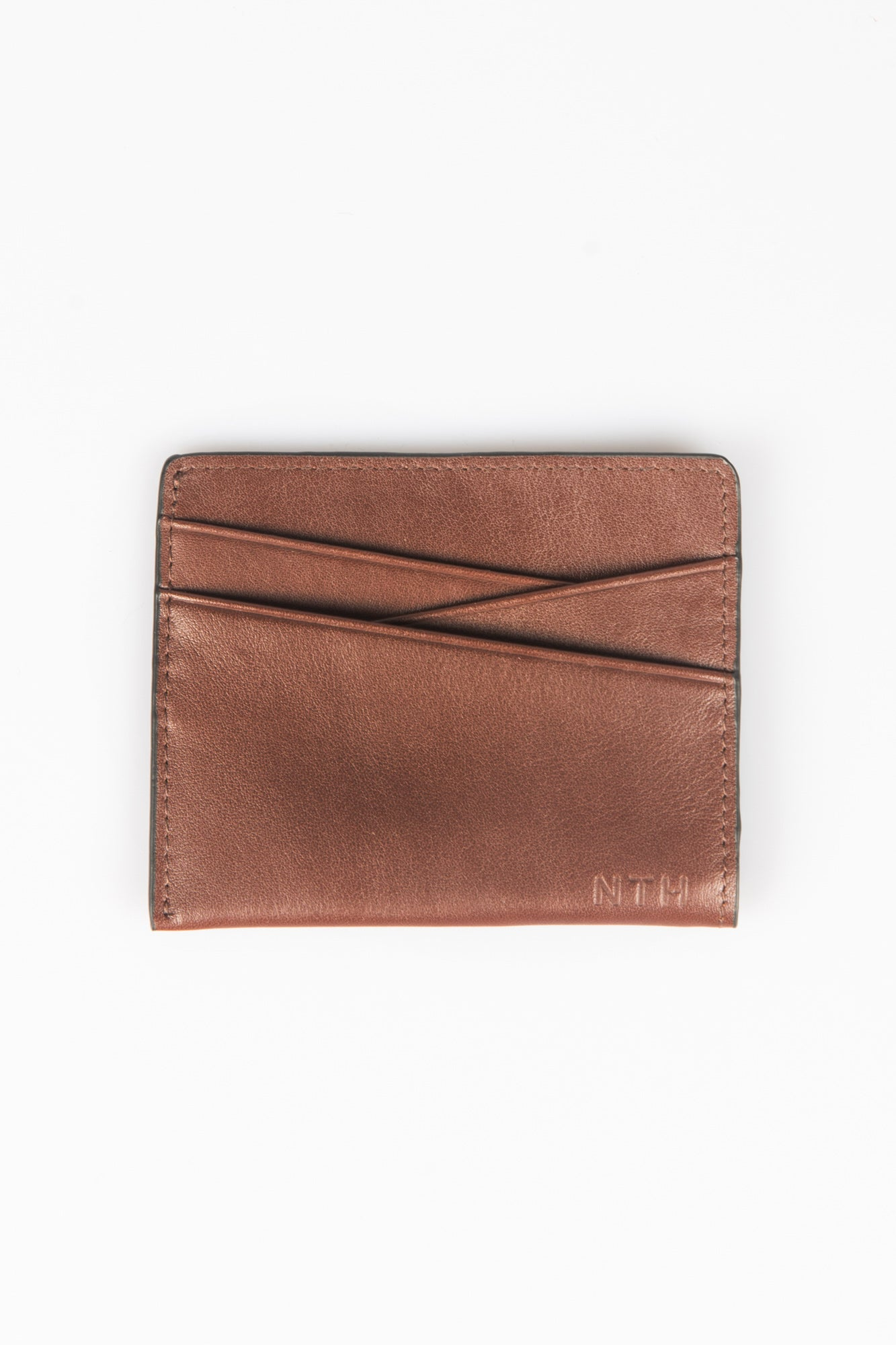 Houston Split Wallet Brown