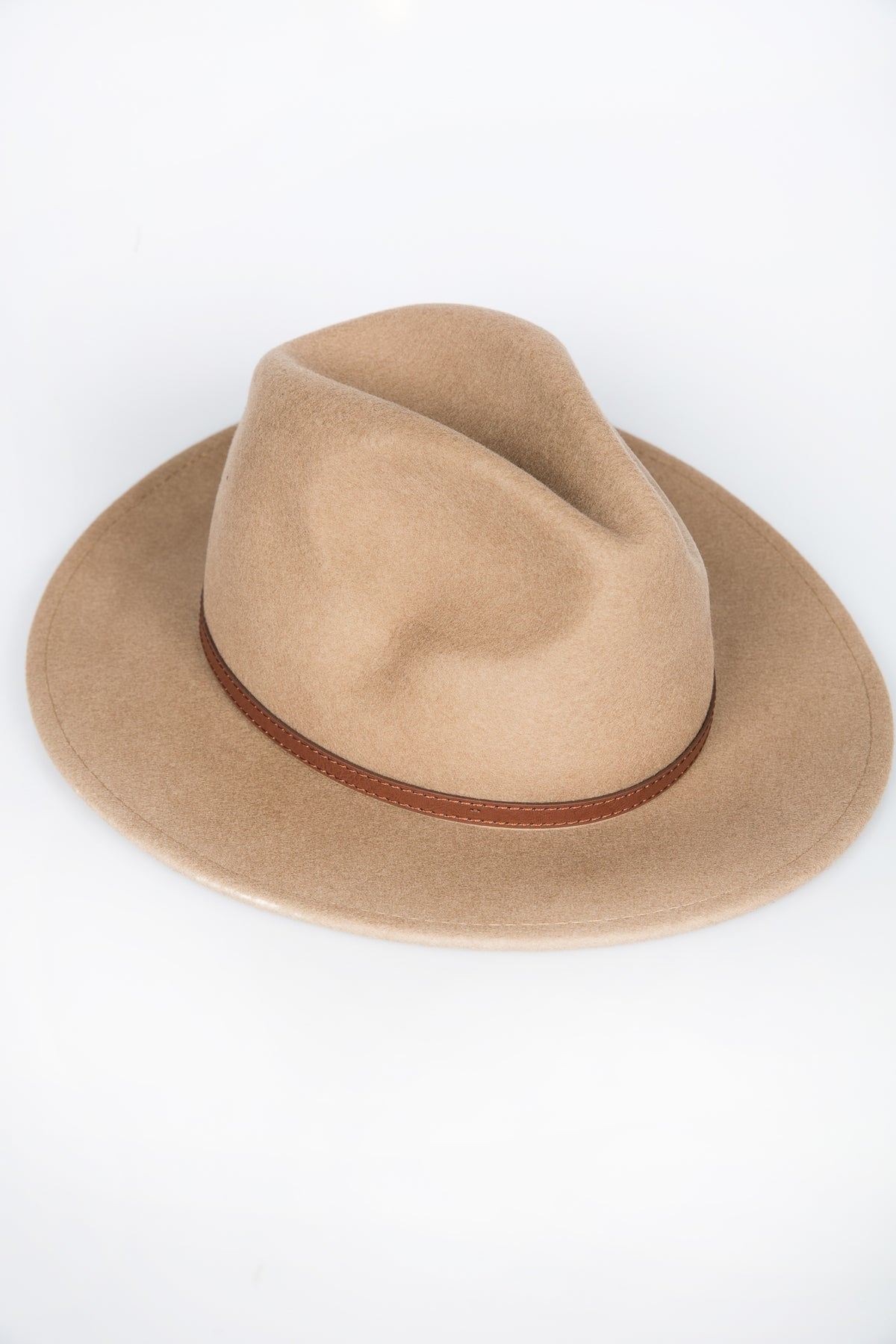 NTH Brim Hat Wool Tan