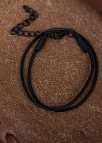 Wrapped Bracelet Black