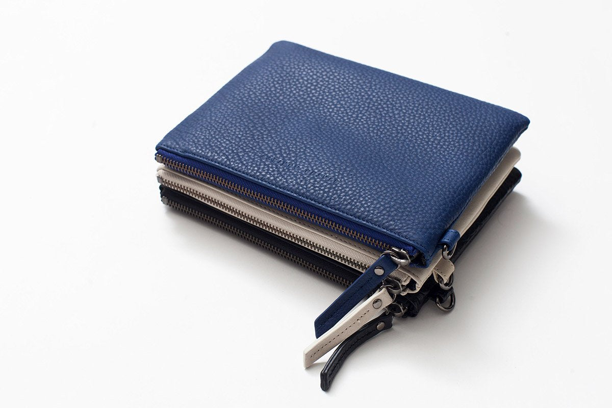 Status Anxiety Fixation Wallet Blue